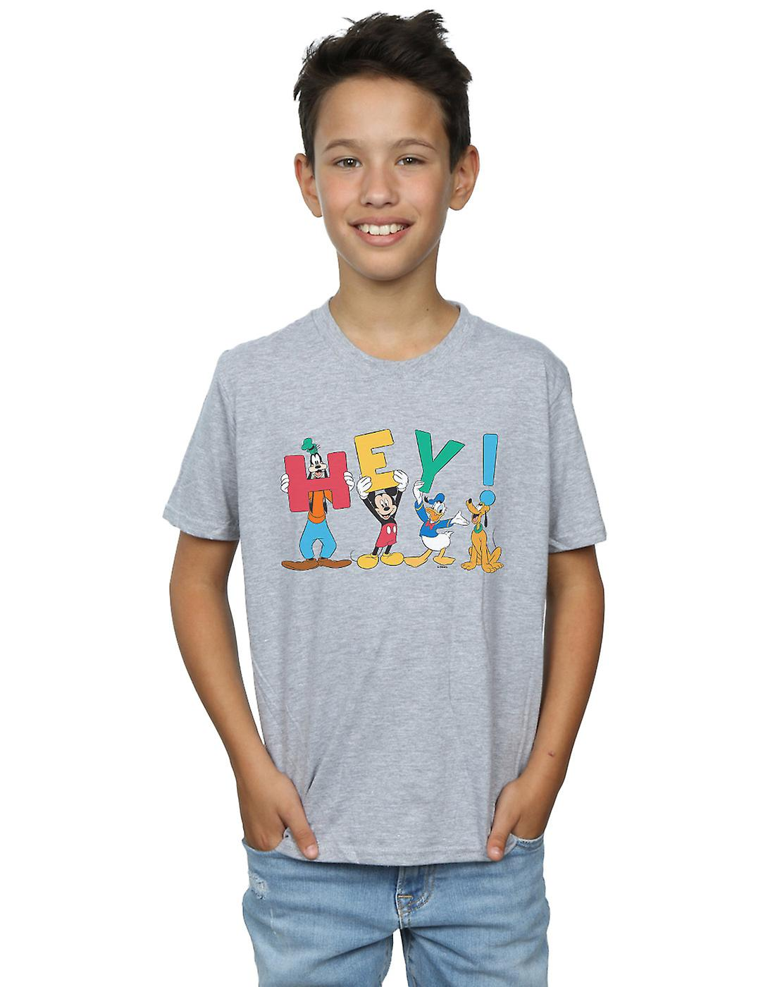 Disney Boys Mickey Mouse Friends Hey T-Shirt