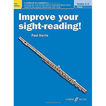 Verbeter uw zichtlezen! Fluit rangen 1-3 door Paul Harris - 9780571