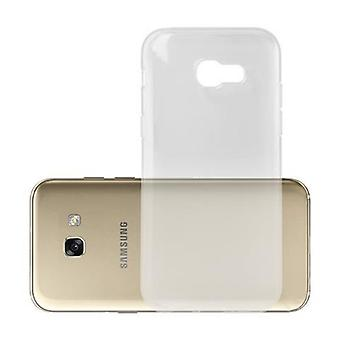 Cadorabo Case voor Samsung Galaxy A5 2017 gevaldekking-mobiele telefoon geval gemaakt van flexibele TPU silicone-silicone geval beschermende case ultra slanke zachte terug Cover Case bumper