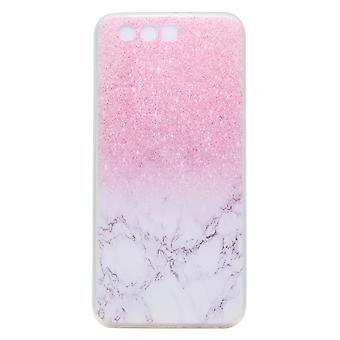 Huawei Honor 9 TPU Soft shell-Pink Marble