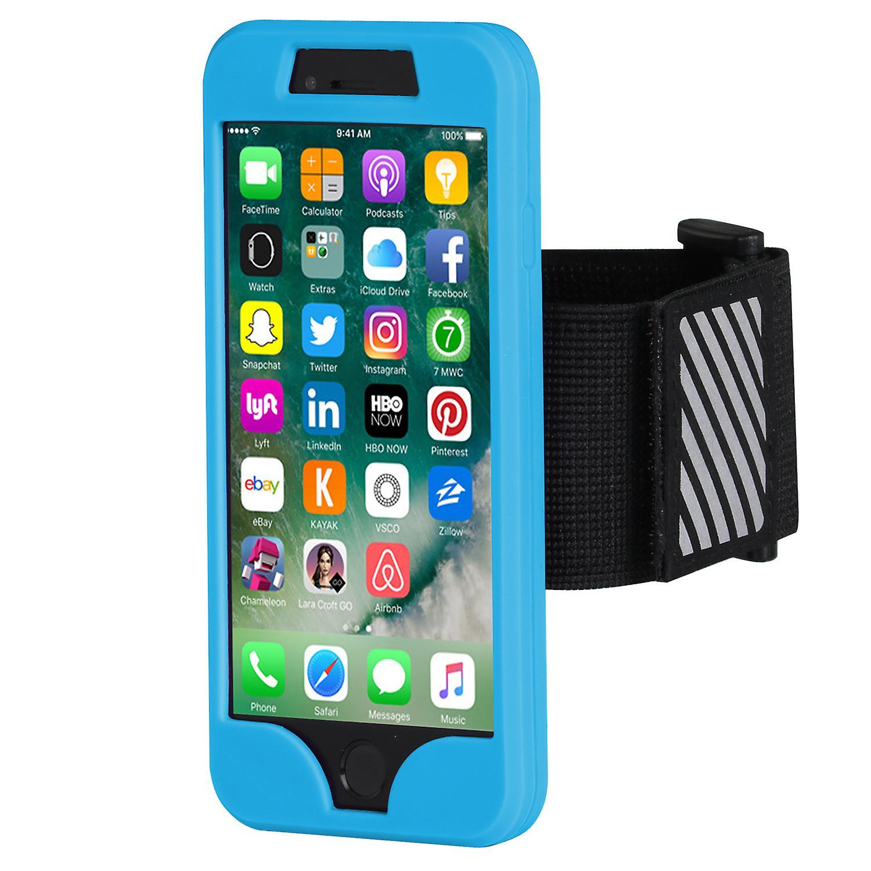 IPHONE 7 ARMBAND BLUE