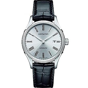 Hamilton Analog automatic men's watch with leather H39515754