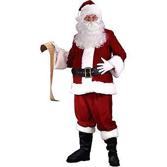 Santa Claus Christmas voksen drakt