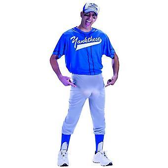Baseball mutter pluss størrelse voksen drakt