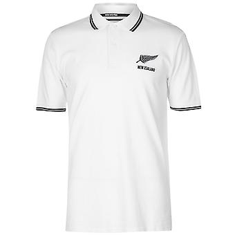 Team Rugby Mens New Zealand Polo Shirt