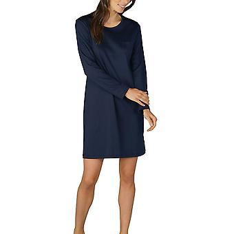Mey 11954-408 Women's Sonja Night Blue Cotton Nightdress