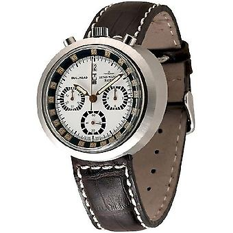 Zeno-watch mens watch Bullhead chronograph limited edition 3591 i26