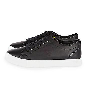Lyle and Scott Teviot Leather Trainers