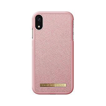 iDeal de Suecia iPhone XR Saffiano Shell-Pink