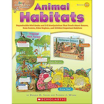 Animal Habitats - Grades 2-3 - Reproducible Mini-Books and 3-D Manipul