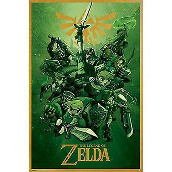 The Legend Of Zelda Poster Link 141