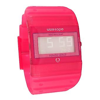 Wize and Ope Seventy Seven  Red Digital  Watch WO-77-8