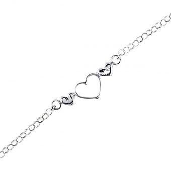 Eeuwigheid Sterling Silver Kids Heart armband