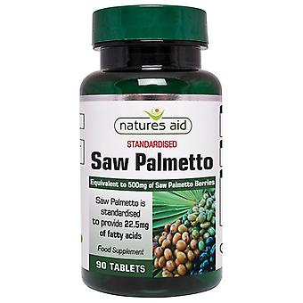 Nature's Aid Saw Palmetto 500mg Tablets 90 (18820)