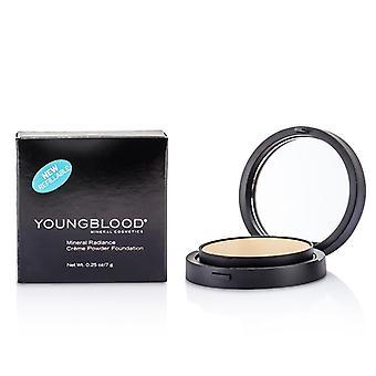 Fondotinta fluido Creme polvere minerale Youngblood - # a malapena Beige 7g/0,25 oz
