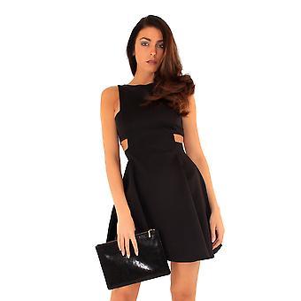 Ly kvinner/Ladies Regent Street kutte ut skater kjole