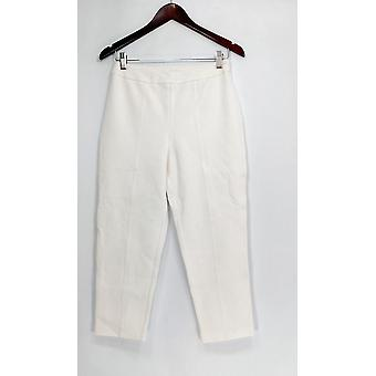 Joan elver Classics Coll. Petite bukser SP signatur ankel bukser hvit A300847