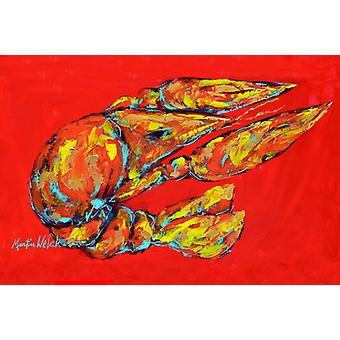 Carolines Treasures  MW1151PLMT Reach for the Claws Fabric Placemat