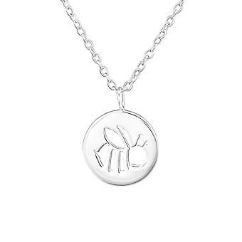 Bee - 925 Sterling Silver Plain Necklaces - W37906x
