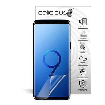 Celicious Matte Flex Anti-Glare 3D Screen Protector Film Compatible with Samsung Galaxy S9 [Pack of 3]