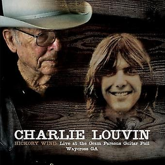 Charlie Louvin - Hickory Wind: Live at the Gram Parsons Guitar Pull [CD] USA import