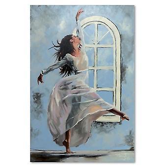 Painel do deco, dançarino 3