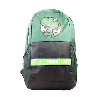 Super Mario Backpack Yoshi Taped Japanese Logo new Official Nintendo Green