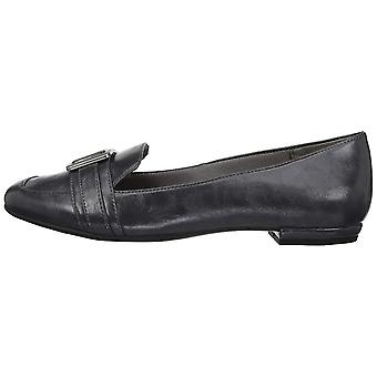 LifeStride Womens baffle Leather Square Toe Loafers