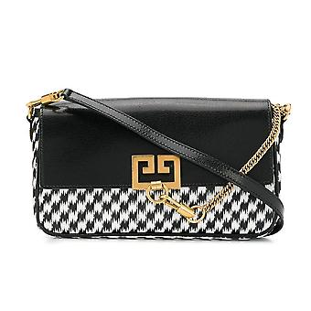 GV3 Logo Clutch Shoulder Bag
