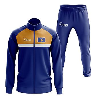 Kosovo Concept Football Tracksuit (Blue)