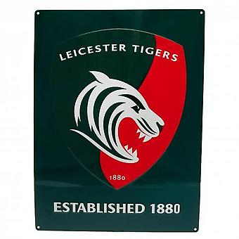 Leicester Tigers Logo Sign