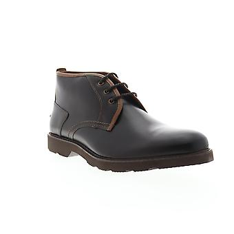 Florsheim Casey Chukka  Mens Brown Leather Chukkas Boots Shoes