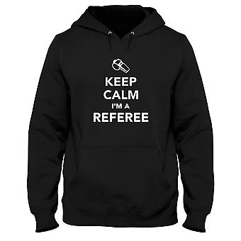 Black man hoodie dec0187 keep calm im a referee