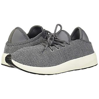 Madden Girl Iconicc Lace Up Sneakers, Grey Fabric, 8 US
