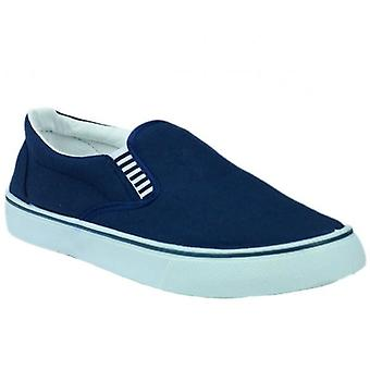 Mirak Yachtmaster heren canvas dek schoenen Navy