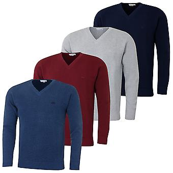 Lacoste Herren Classic V-Neck Pique Pullover
