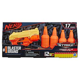 Nerf Alpha Strike Cobra RC 6 Dart Gun Set With Target Bottles