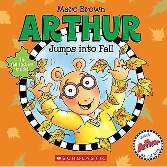 Arthur hoppar in i höst av Marc Brown