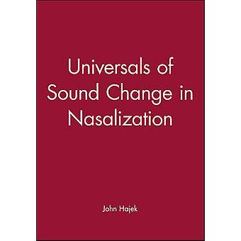 Universaalit ääni muutos Nasalization John Hajek - 9780631204