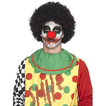 Deadly Clown Make-Up Kit, with Transfer Tattoo, MULTI