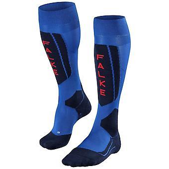 Falke skidåkning 5 knä höga strumpor-Olympic Blue