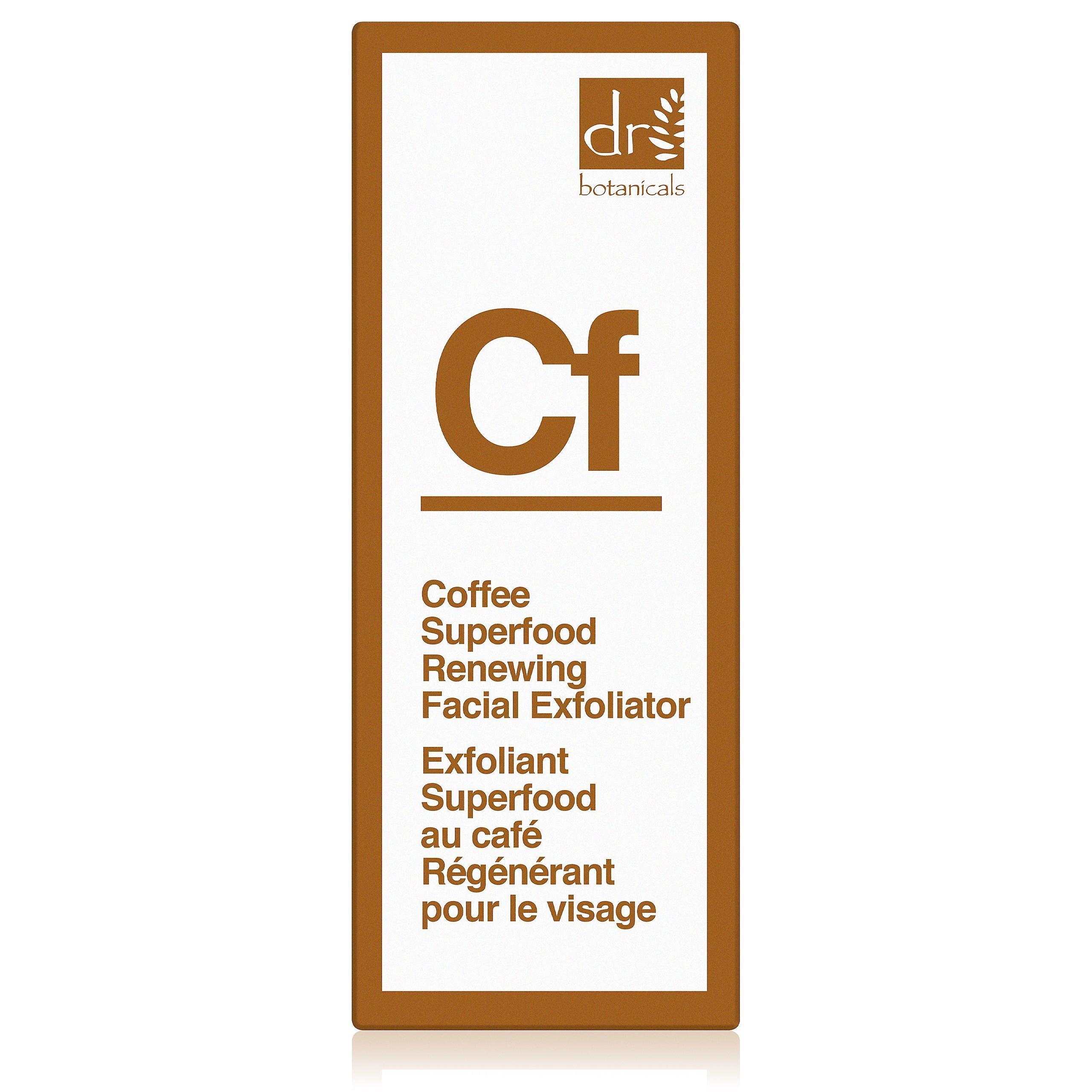 Coffee superfood renewing facial exfoliator (30ml)