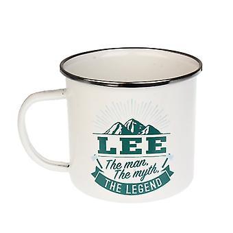 Historia & Heraldry Lee Tin Mug 58