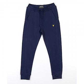 Lyle és Scott Navy Pique Trackpant fenék ML1248V