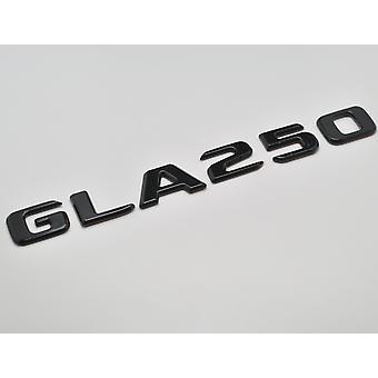 Gloss Black GLA250 Flat Mercedes Benz Car Model Rear Boot Number Letter Sticker Decal Badge Emblem For GLA Class X156 AMG