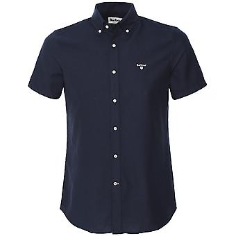 Barbour Tailored Fit Short Sleeve Oxford Shirt