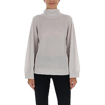 Fabiana Filippi Mad129b921n907092 Women's White Wool Sweater