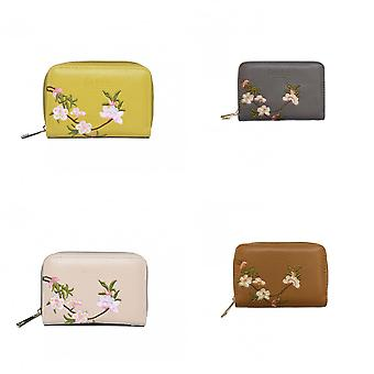 Fable Womens/Ladies Blossom Embroidered Small Purse