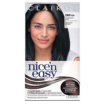 Clairol nice 'n easy, 2bb/124 natural blue black, 1 ea