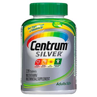 Centrum silver adults 50+, multivitamin & multimineral, tablets, 220 ea